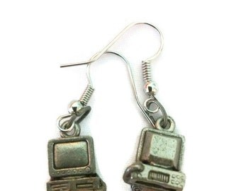 Computer Bead Earrings