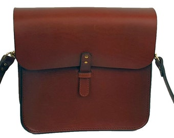 Man Bag Messenger Bag Leather