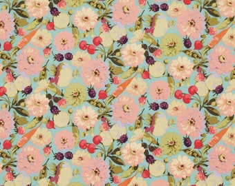 Market Mix Zinnias in Pastel by Martha Negley for Westminster