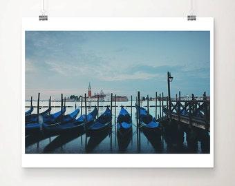 Venice photography Venice print gondola photograph travel photography wanderlust art Venice art sunrise photograph Italian decor
