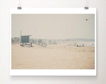 beach photograph santa monica photograph pacific ocean photograph california photograph bird photograph california print