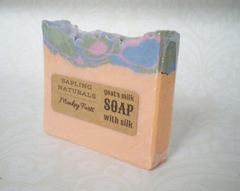 Monkey Farts Soap with Goat's Milk and Silk