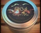Citronella Scented Soy Wax Candle - 8oz Tin Scented Candle