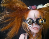 "6"" Inch  One of a Kind Prosculpt Warrior Fairy from Sandi McAslan"