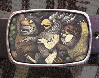 Where The Wild Things Are Belt Buckle 712