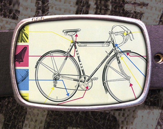 Bike Belt Buckle Diagram Buckle Retro Cool 527