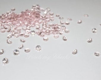 400 Blush Pink Baby Pink Light Pink Confetti Wedding Party Diamonds