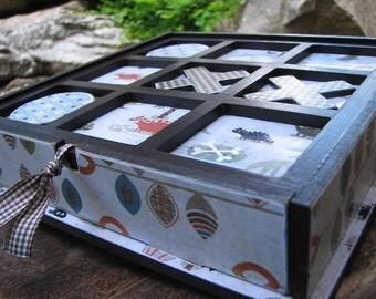 Tic Tac Toe Game Box - Chocolate Dinosaurs