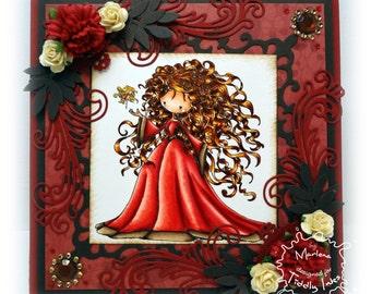 Handmade Greeting Card, Magda