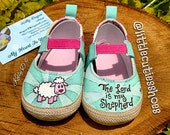 Size 3 little lamb toddler shoes