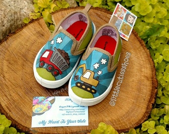 Trucks toddler shoes