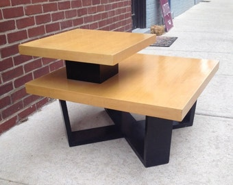 Paul Frankl Mid Century Two Tier Coffee Table