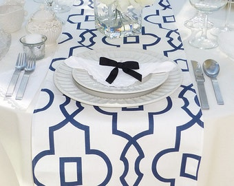 Choose your Table Runner, Blue and White Table Runner - Wedding Table Runner - Wedding Table Decor - Table Runner