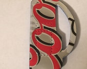Golf Clubs Magnet Made From Upcycled Coors Light Beer Can