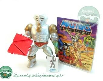 MOTU Action Figure: Extendar Complete 1980s Toy