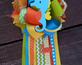 under the sea corsage-under the sea baby shower