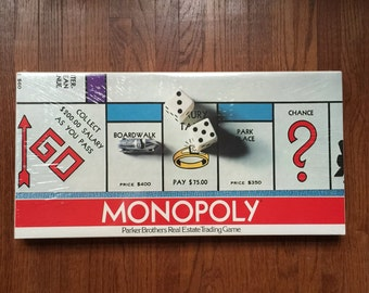 Factory Sealed Monopoly - 1975