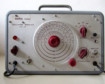 Vintage Italian Modulated Oscillator
