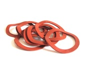 """Canning Jar Rubber Gasket Rings - For Bail Lid Hermetic Storage Jars?-  Weird Size 2 5/8"""" - AS-IS, see """"Item Details"""""""