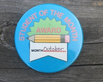 Student of the Month- October