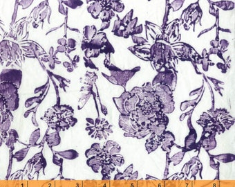 Meadowlark - Purple Flowers from Windham Fabrics
