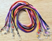 8 x Necklace Style Eyeglass Holder Fashion Cords