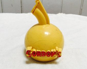 Vintage 1960s Gordon's Liquor Pourer