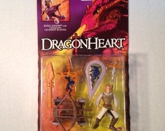 1995 DragonHeart action figure, King Einon, NIP