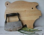 Vintage Metal Chopper / Dough Cutter / Country Home Decor/ Rustic Kitchen