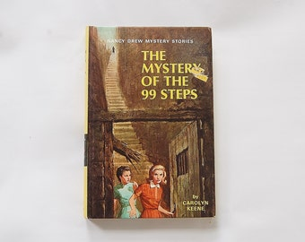 Nancy Drew Book The Mystery of The 99 Steps