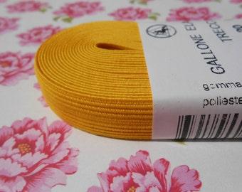 "Colored Elastic Headband Yellow 5/8""width 5MT."