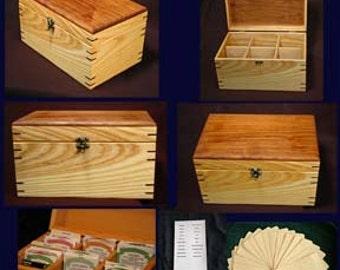 Seed Packet Organizer & Storage Box #1031