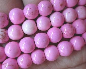 49 HOWLITE Beads 8mm - COD3570