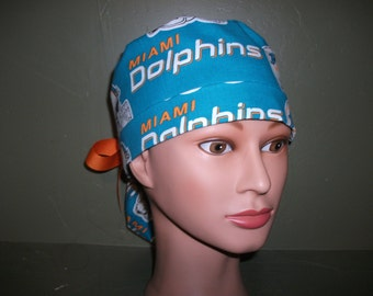 NFL  Dolphins Ponytail scrub cap