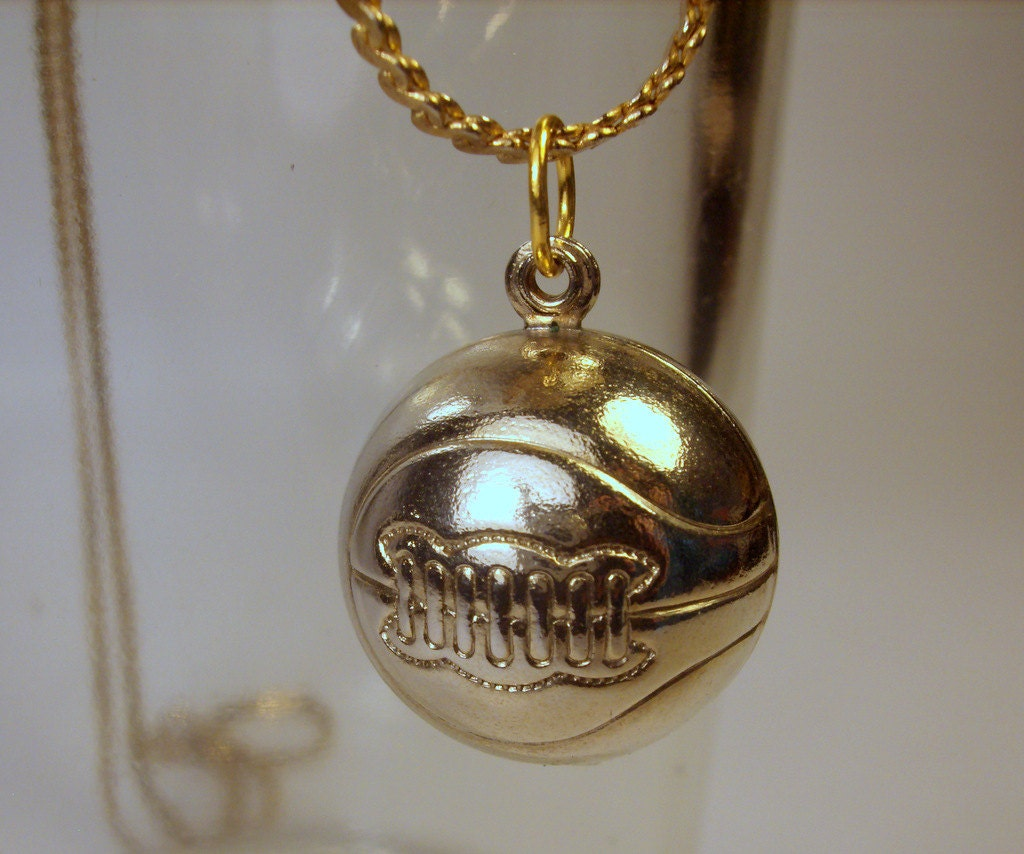 Basketball Charm Bracelet: Basketball Or Soccer Ball Pendant Charm Necklace Jewelry