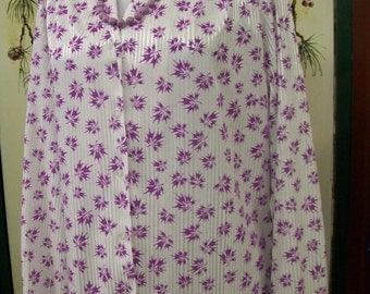 Made In USA by Graff California Wear  Long Sleeved Blouse  size 10