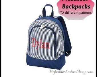 Personalized Preschool Backpack - Monogrammed Preschool Backpack - Quick Shipping