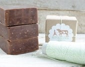 Chocolate Milk {Chocolate Soap Made with Jersey Milk}