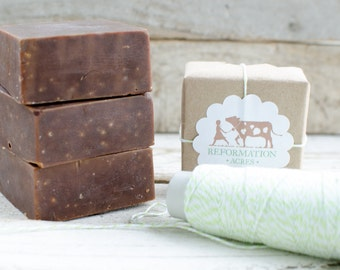 Chocolate Milk {All-Natural, Jersey Milk Soap, Cold Process Soap, Farmstead Soap, Handcrafted}