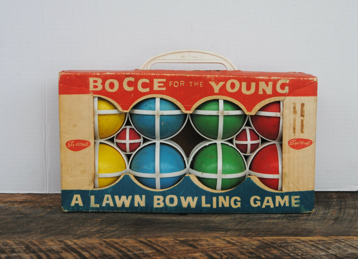 Bocce Ball Lawn Bowling : Vintage Bocce For the Young Lawn Bowling Game by 12108VintageLane