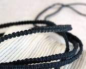 Long Knotted Waxed Cotton String, Free to Use as Bracelet, Belt, Anklet, Necklace