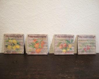 dollhouse miniature image publicity fruit vintage