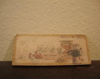 dollhouse miniature image publicity  vintage