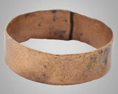 Mans Antique Ancient Wedding band Viking Ring C.866-1067AD. Size 12 3/4   (22.1mm)(BRR760)