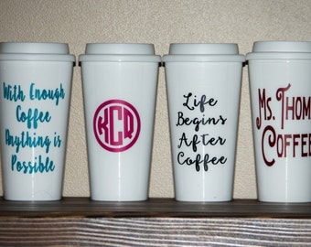 16oz Coffee Cups-personalized