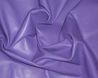 "Leather 8""x10"" DIVINE Iris Purple Top grain Cowhide 2-2.5 oz / .8-1 mm Hides avaiable PeggySueAlso™ E2885-42"
