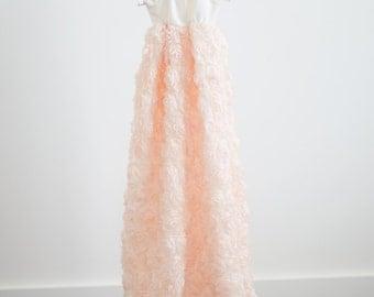 Light Pink Newborn Blessing/Christening Dress