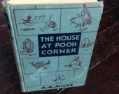 Holiday Sale Item - Journal - The House At Pooh Corner vintage journal