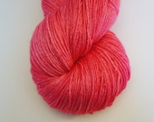 Rose Darling, on Lacey Silk, SW BFL and Silk 150g, 657 yards
