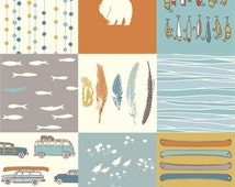 Feather River Patchwork From Birch Organic Fabrics - Choose Your Cut